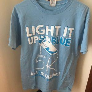 AXiD light up blue